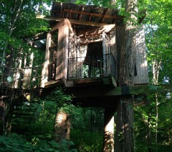 Lesní skrýš v Atlantě, kterou si můžete pronajmout