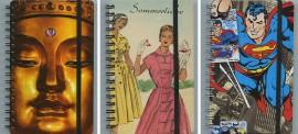 Krásné diáře a zápisníky
