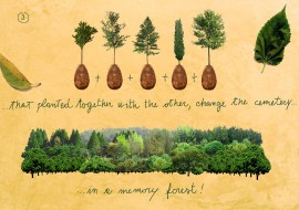 Proměňte se po smrti v krásný strom