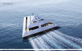 Tetrahedron - jachta budoucnosti