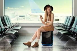 Sedací cestovní kufr od Jurni